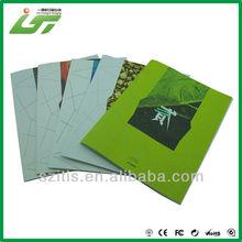 simple binding advertising brochure samples printing factory