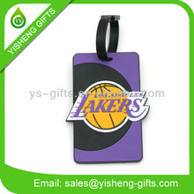 NBA LAKERS Rubber PVC Luggage/Bag Tag