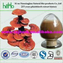 high quality 100% natural reishi mushroom extract 4% ganoderma triterpenes supplier