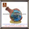 Lembranças turísticas Handmade artesanato resina Shell decoração