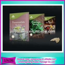 Flexible food packaging aluminum plastic bags for food