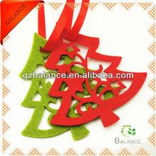 new fashion design felt ornament suppliers/felt hanging