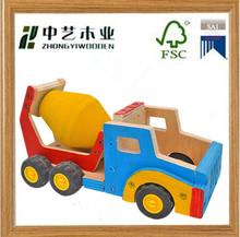 kids wood craft kits/wooden car models