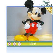 2013 Fiberglass Cartoon models---Vivid Mickey For Hot sale