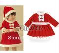 Little miss santa' s helper natale del bambino abiti ragazze costume vestito vacanza regalo natale rosso 3 18670 dimensioni