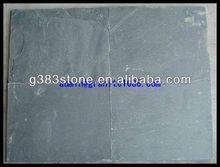 stacked stone black slates
