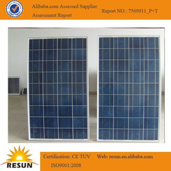polycrystalline pv module 140w solar panel for solar energy system