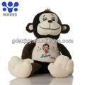 grossista lindo macio macaco recheadas animal de pelúcia fábrica de brinquedos