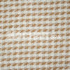 100% Houndstooth recycled wool fabric