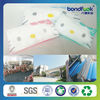 Spunbond nonwoven fabric instead of SMS nonwoven making pillow cover headreat cover