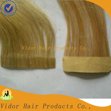 Double Side European Hair Skin Wefts/Tapes Hair Extension