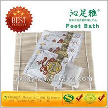HOT selling Chinese manufacturer foot bath powder bama herbs made of bama herbs foot