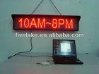 led display (P10 , 16x96 )