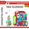 Hot sale! Plastic musical instrument set, cartoon telephone Educational toy,kid-learning toy
