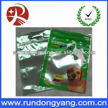 High quality pet food side gusset pouches for packing/zipper bag