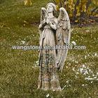 Elegant Carved Marble Statues Stone Angel Sculpture