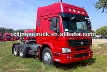 2012 hot sale china 6x4 tractor truck