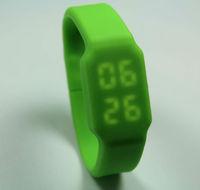 led watch usb flash memory silicon led watch usb flash memory