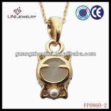FP0860-2 cute lovely pendant,white stone pendant