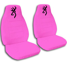 Hot Pink Velour Cute Car Seat Covers