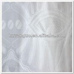 Cotton Fabric Damask Shadda Guinea Brocade Bazin Riche 100% Cotton Fabric For African Dress Huzhou Zhejiang China Manufacturer