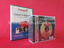 Media packaging of CD disc