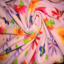 100% Polyester Printed Polar Fleece Fabric Bonded Dyed