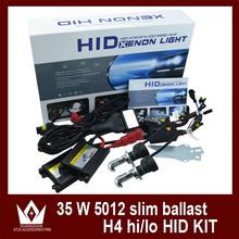 Best price and good quality hid bi-xenon kit 35w ultra slim ballast