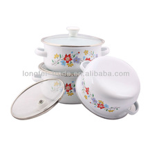 cookware set enamel ground beef casserole