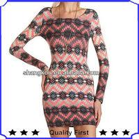 fashion design women clothing of one piece boutique dress ,clothes women 2014 ,newly design women clothes fashion dress SHK1133