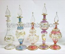 Hand Blown Glass Perfume Bottles