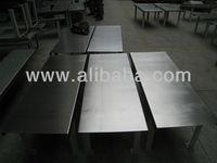 heavy duty prison stainless steel table
