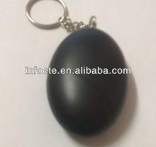 200pcs per carton Black color Keychain alarm