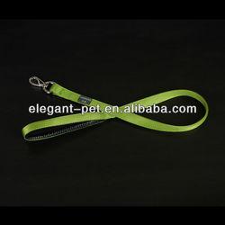 High Quality Plain Color Double Layers Nylon Pet Dog Leash Harness TL1001