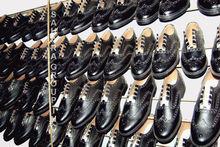 Ghillie brogues, Bande de tubes de marche chaussures