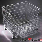 Nashville Industry Mesh box wire cage metal bin of container for pellet