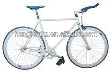 HH-FG02A 700c white fixed gear bikes with flip flop