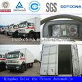 2013 nuevo hecho beiben norte benz ng80 eurii/euriii 8x4 contenedores de transporte 40t camión camión