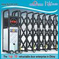 exteriores de ferro portão de grade de liga de alumínio cerca elétrica portão