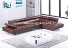 Modern design low seat sofa pure leather sofa F868#