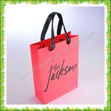 custom printed retail shopping bag