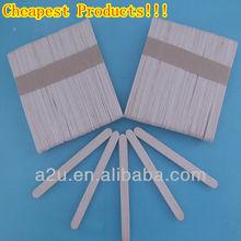 Plain Wooden Ice Cream Sticks