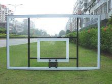 glass basketball backboard