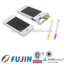 5 in 1 highlighter pen set /Iphone shape highlighter set/novelties 2013/new office & school products