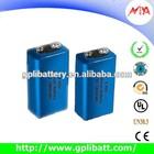 Lithium thionyl chloride er9V alarm batteries