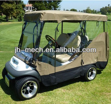 golf cart snow cover