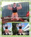 Atractivo& gigante de la historieta inflable del anuncio precio/inflable muscular de los hombres