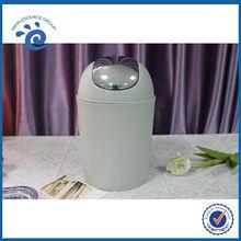 PP Plastic Trash Can Dustbin Elegant Simplicity Bathroom Set