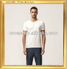 2013 new design fashion hot sell pure cotton promotional good quality short sleeve mens collared O-neck t shirt