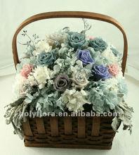 korunmuş kraliyet çiçek sepeti korunmuş çiçek sepeti